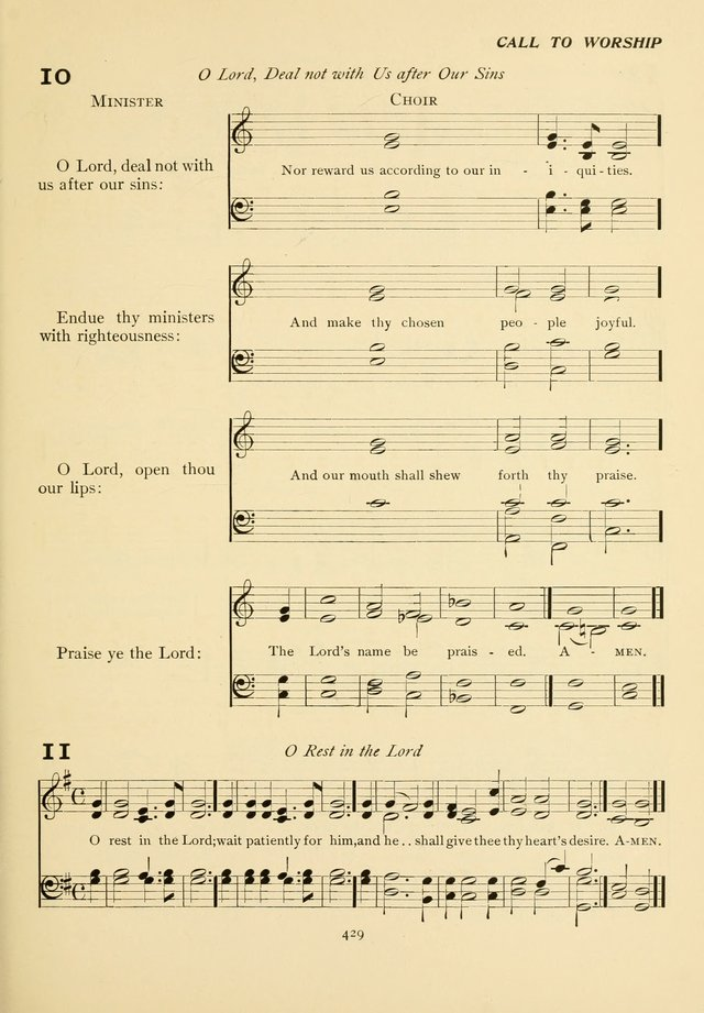 The Pilgrim Hymnal page 429