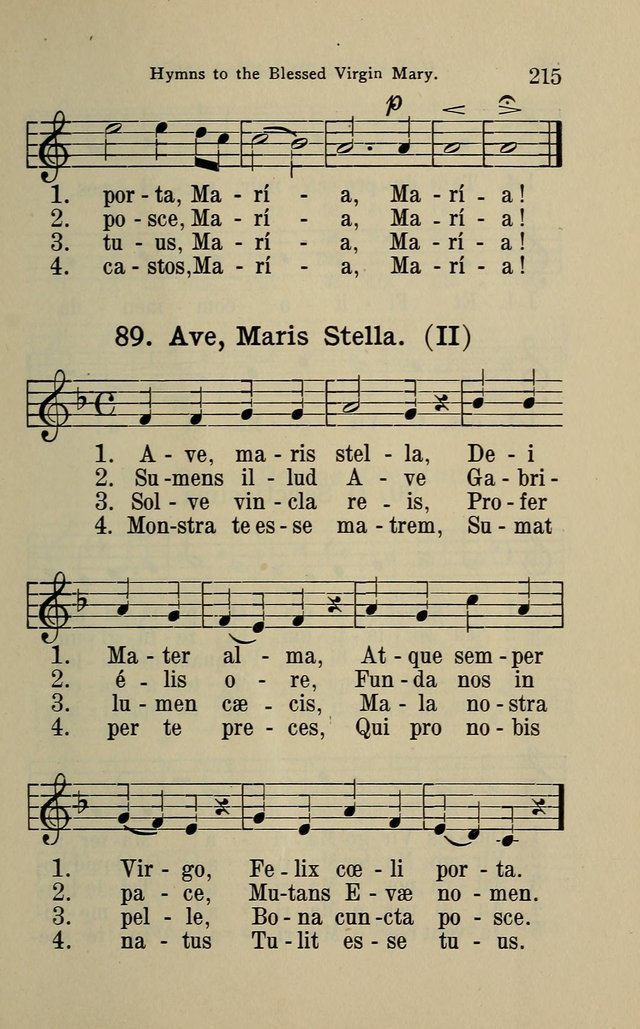 The Parish Hymnal page 215