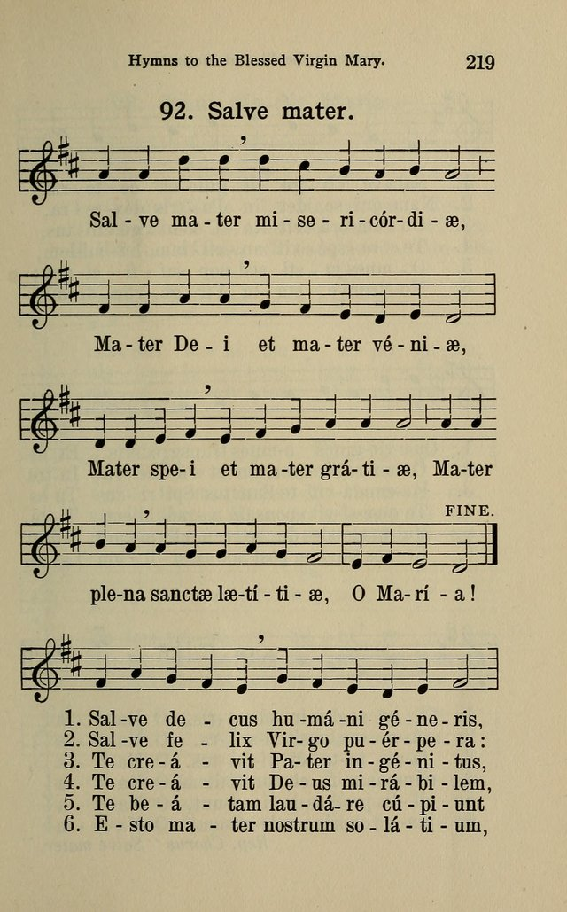 The Parish Hymnal page 219