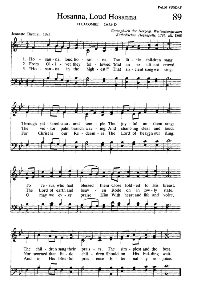 Presbyterian Hymnal: hymns, psalms, and spiritual songs page 101