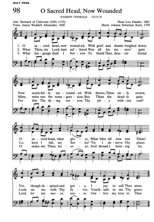 Presbyterian Hymnal: hymns, psalms, and spiritual songs page 110