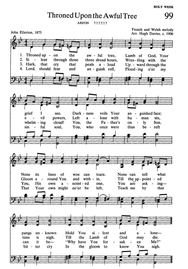 Presbyterian Hymnal: hymns, psalms, and spiritual songs page 111