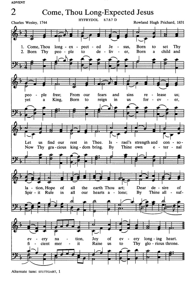 The Presbyterian Hymnal: hymns, psalms, and spiritual songs page 2