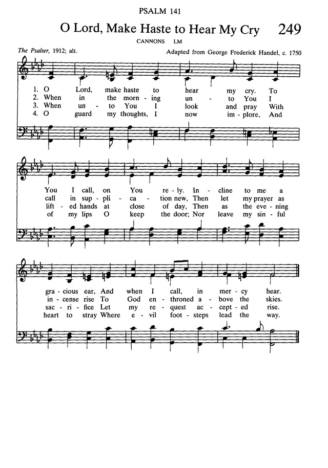 Presbyterian Hymnal: hymns, psalms, and spiritual songs page 273