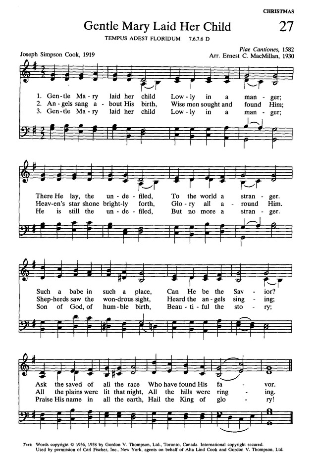 Presbyterian Hymnal: hymns, psalms, and spiritual songs page 29