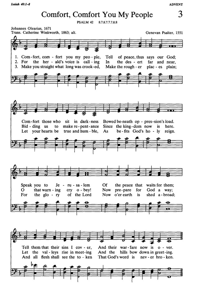 Presbyterian Hymnal: hymns, psalms, and spiritual songs page 3