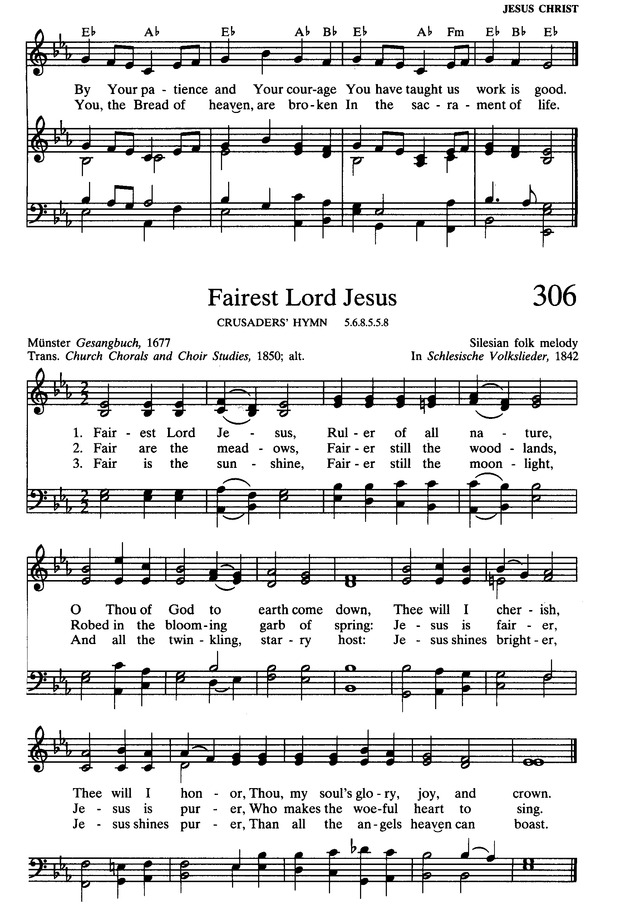 Presbyterian Hymnal: hymns, psalms, and spiritual songs page 341