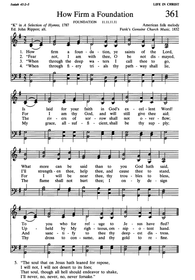 Presbyterian Hymnal: hymns, psalms, and spiritual songs 361