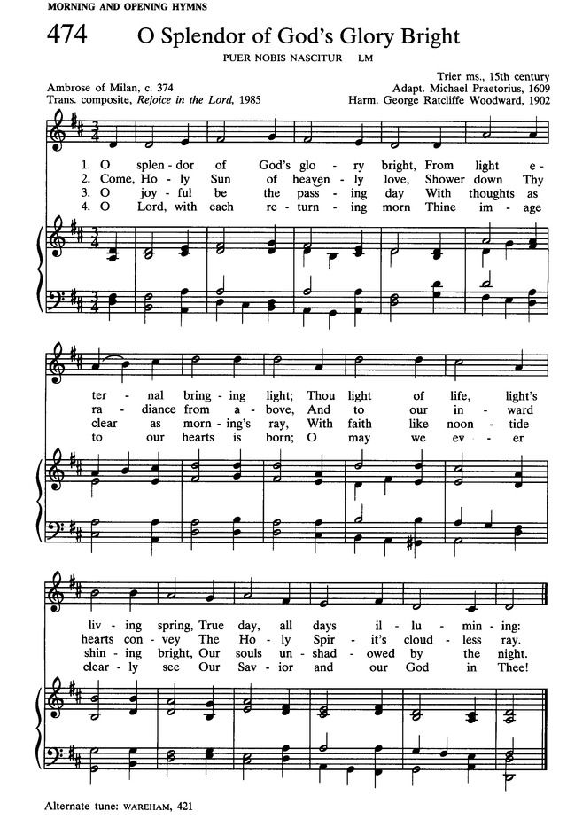 Presbyterian Hymnal: hymns, psalms, and spiritual songs 474