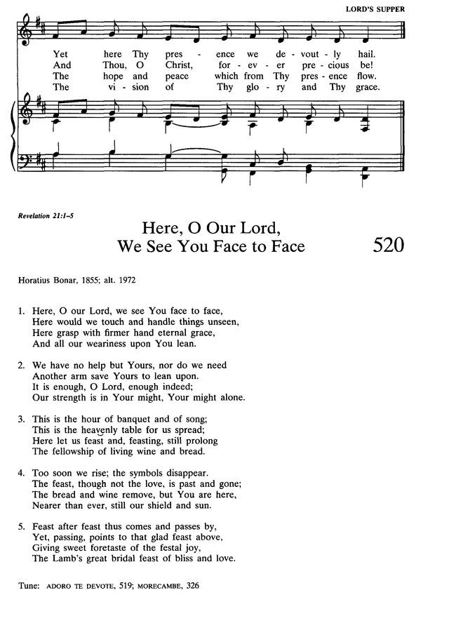 Lyric adore you lyrics : Presbyterian Hymnal: hymns, psalms, and spiritual songs 519. Thee ...
