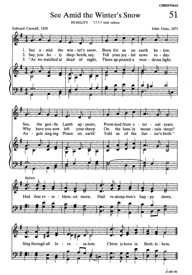 Presbyterian Hymnal: hymns, psalms, and spiritual songs page 59
