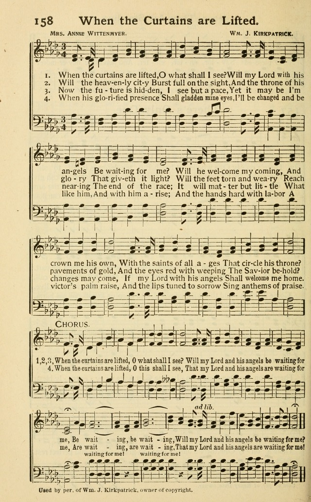 Pentecostal Hymns Nos. 3 and 4 Combined page 158