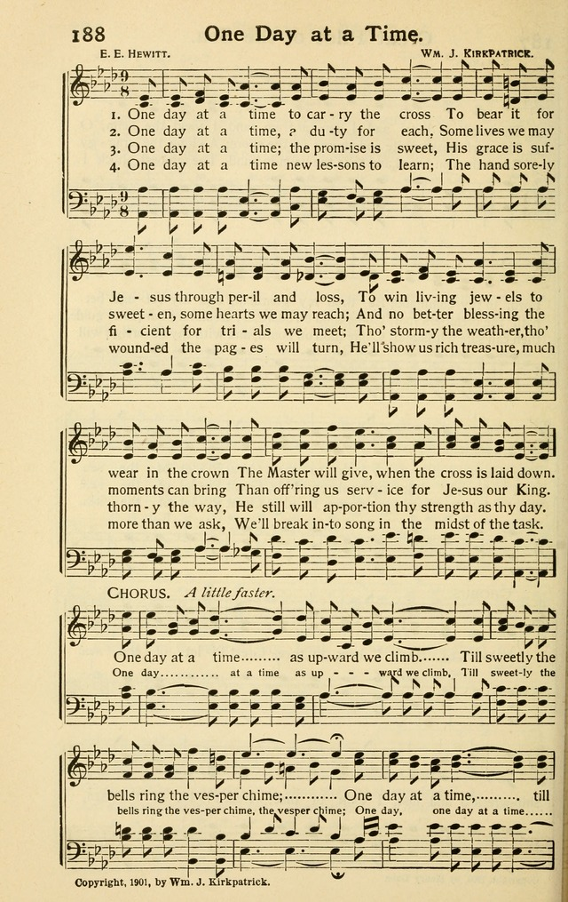 All Music Chords one sweet day sheet music : Pentecostal Hymns Nos. 3 and 4 Combined 188. One day at a time to ...