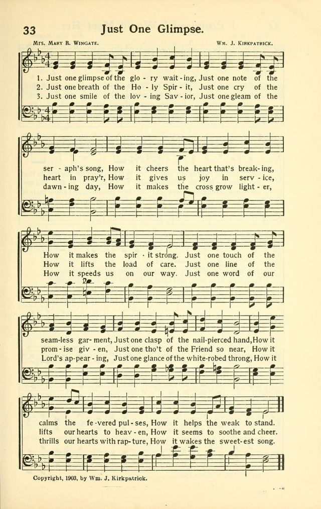 Pentecostal Hymns No. 4, a winnowed collection for young people