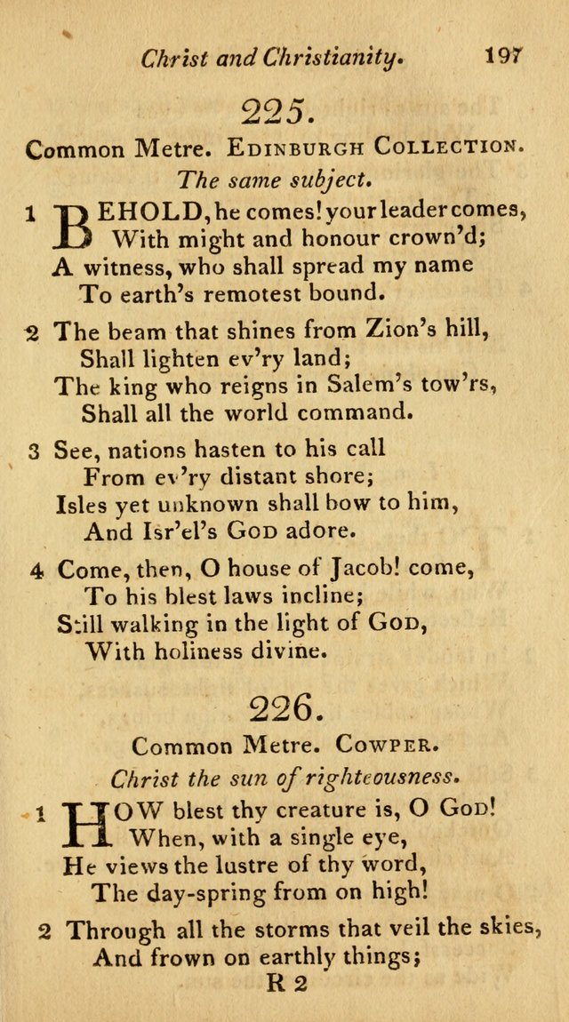 The Philadelphia Hymn Book; or, a selection of sacred poetry, consisting of psalms and hymns from Watts...and others, adapted to public and private devotion page 230