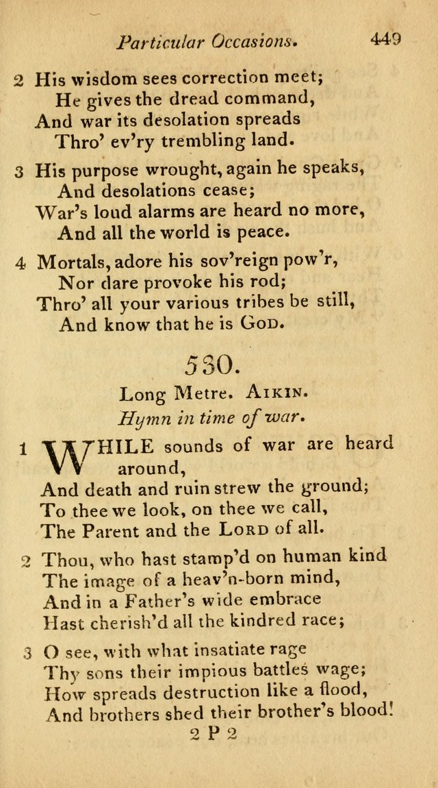 The Philadelphia Hymn Book; or, a selection of sacred poetry, consisting of psalms and hymns from Watts...and others, adapted to public and private devotion page 482