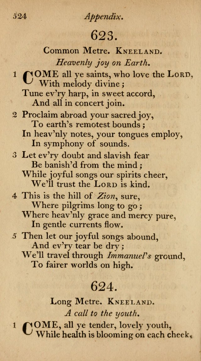 The Philadelphia Hymn Book; or, a selection of sacred poetry, consisting of psalms and hymns from Watts...and others, adapted to public and private devotion page 557