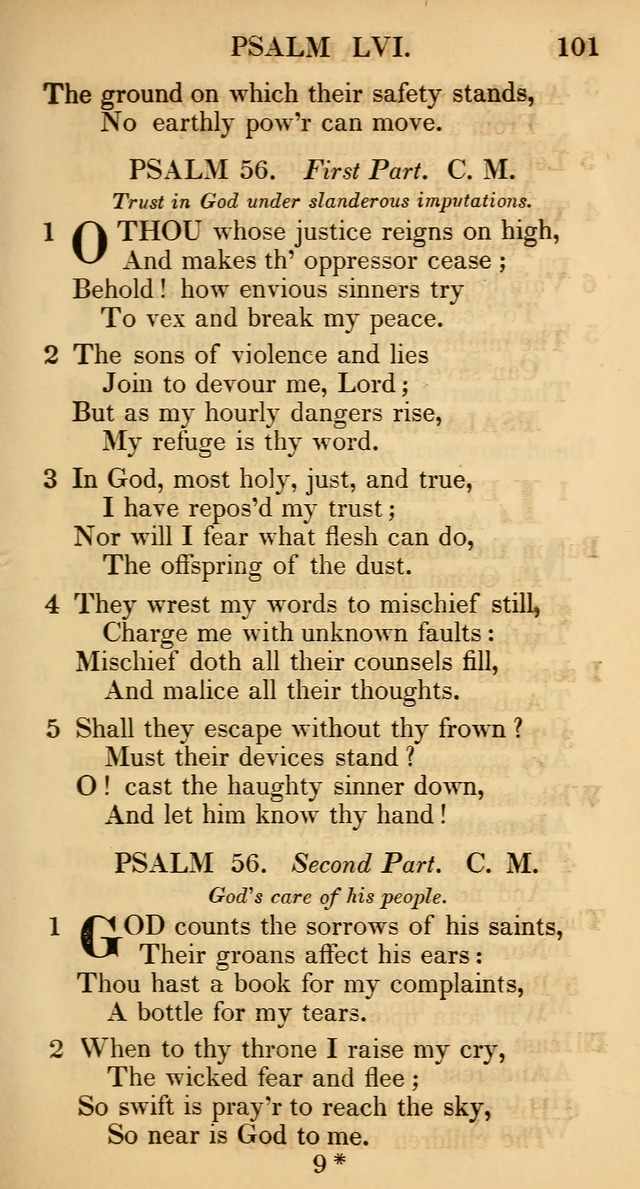The Psalms and Hymns, with the Catechism, Confession of Faith, and Liturgy, of the Reformed Dutch Church in North America page 103
