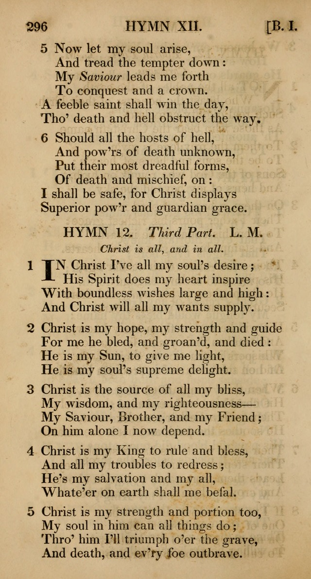 The Psalms and Hymns, with the Catechism, Confession of Faith, and Liturgy, of the Reformed Dutch Church in North America page 298