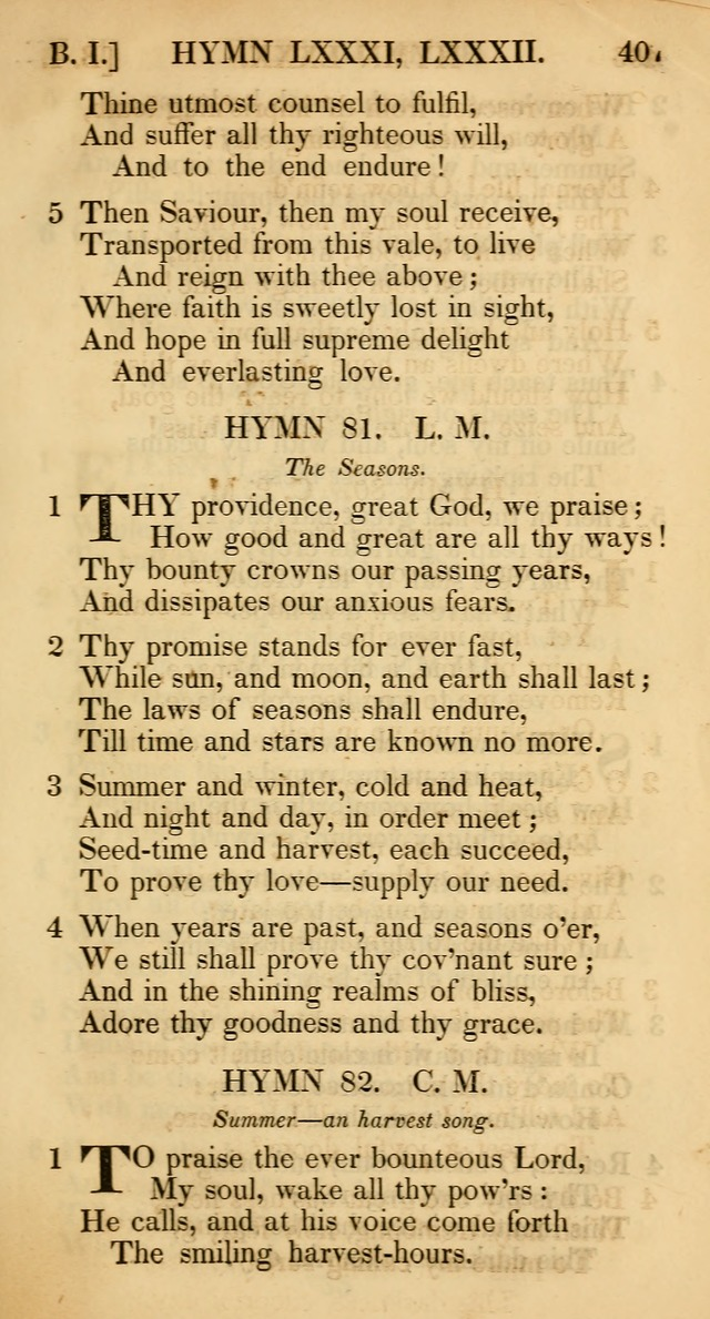 The Psalms and Hymns, with the Catechism, Confession of Faith, and Liturgy, of the Reformed Dutch Church in North America page 409