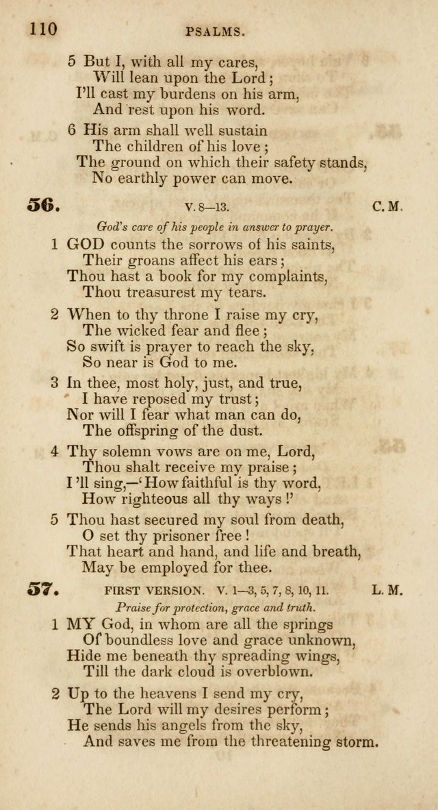 Psalms and Hymns, for Christian Use and Worship page 121