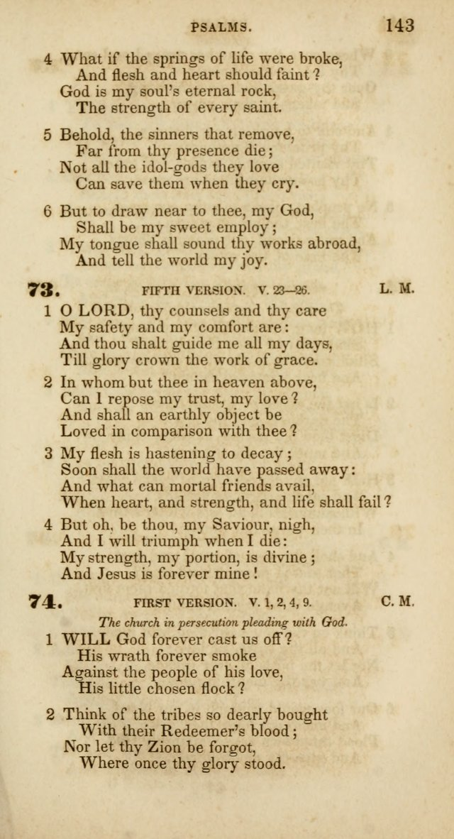 Psalms and Hymns, for Christian Use and Worship page 154