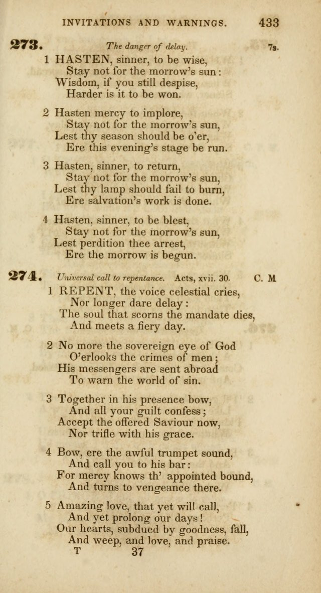 Psalms and Hymns, for Christian Use and Worship page 444