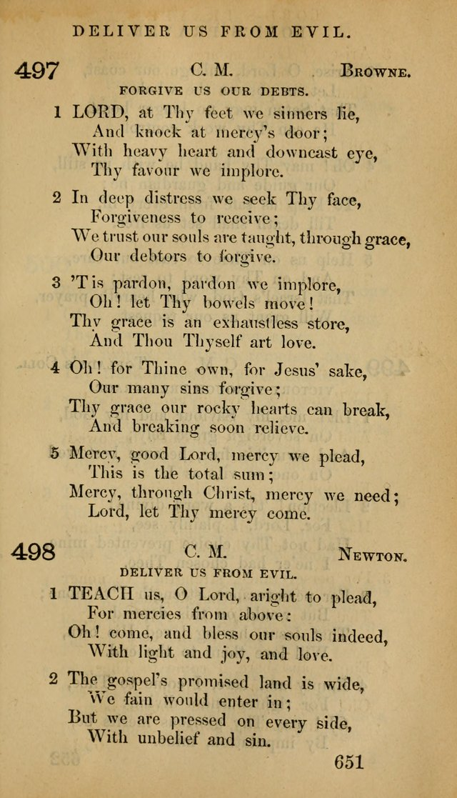 The Psalms and Hymns, with the Doctrinal Standards and Liturgy of the Reformed Protestant Dutch Church in North America page 659