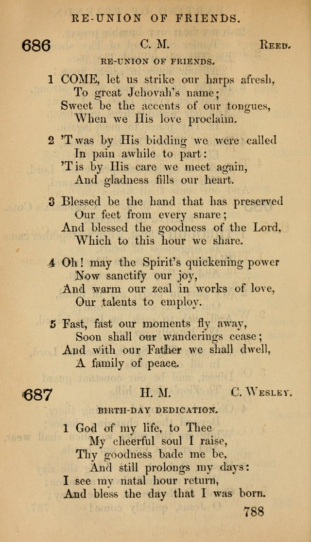 The Psalms and Hymns, with the Doctrinal Standards and Liturgy of the Reformed Protestant Dutch Church in North America page 796