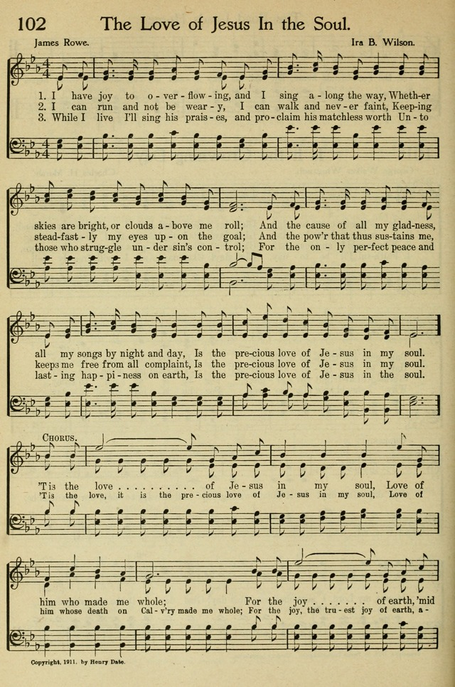 Pentecostal Hymns Nos. 5 and 6 Combined: a winnowed collection for young people
