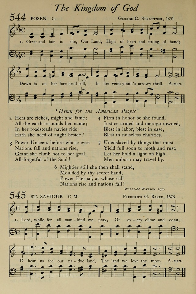 The Pilgrim Hymnal: with responsive readings and other aids to worship page 400