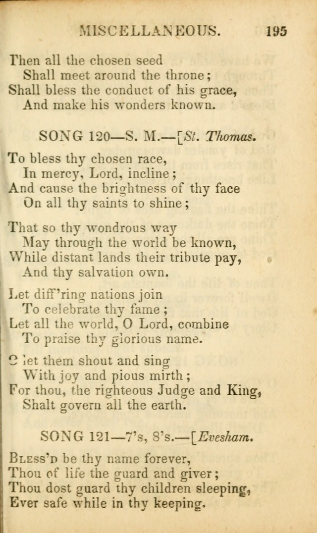 Psalms, Hymns, and Spiritual Songs: original and selected (5th ed.) page 197
