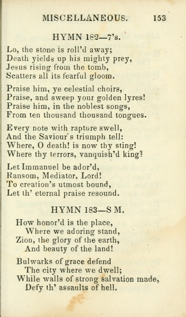 Psalms, Hymns and Spiritual Songs, Original and Selected. (14th stereotype ed.) page 411
