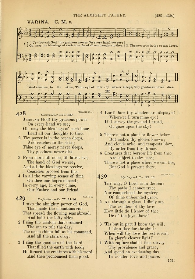 Psalms and Hymns and Spiritual Songs: a manual of worship for the church of Christ page 159