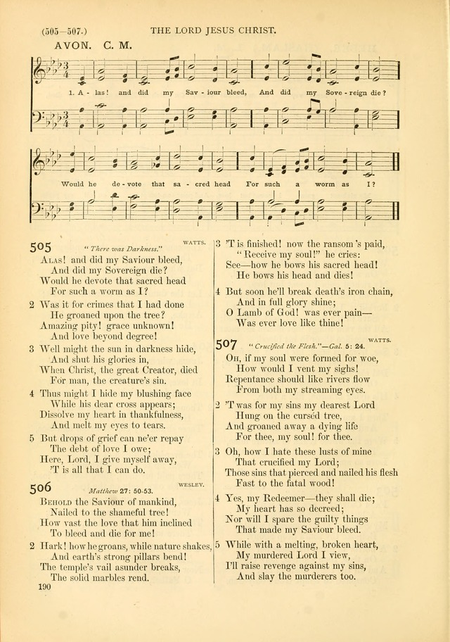 Psalms and Hymns and Spiritual Songs: a manual of worship for the church of Christ page 190