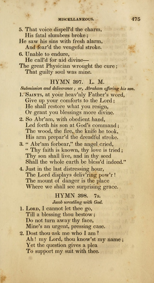 Psalms and Hymns, for the Use of the German Reformed Church, in the United States of America. (2nd ed.) page 478