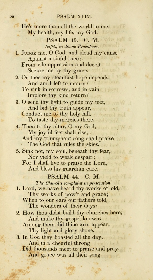 Psalms and Hymns, for the Use of the German Reformed Church, in the United States of America. (2nd ed.) page 61