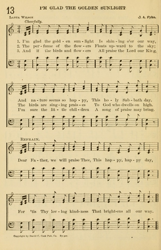 The Primary and Junior Hymnal page 14