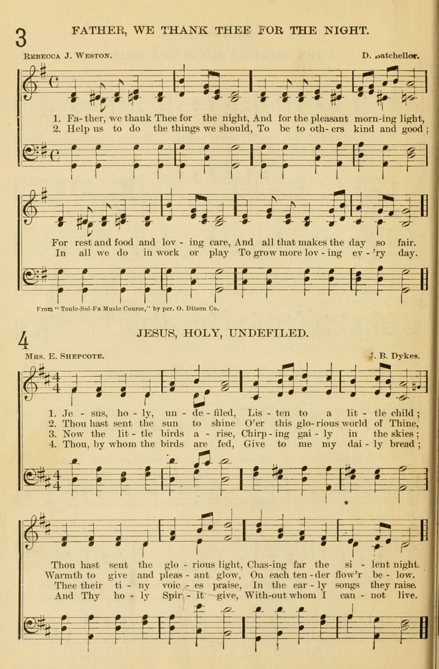 The Primary and Junior Hymnal page 8