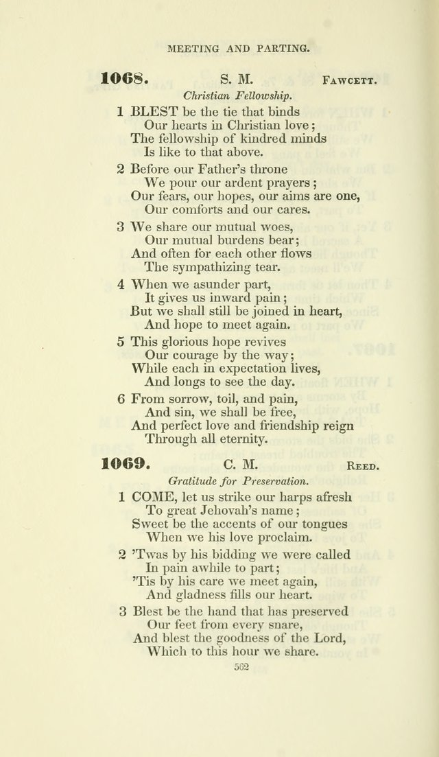 The Psalmist: a New Collection of Hymns for the Use of the Baptist Churches page 637