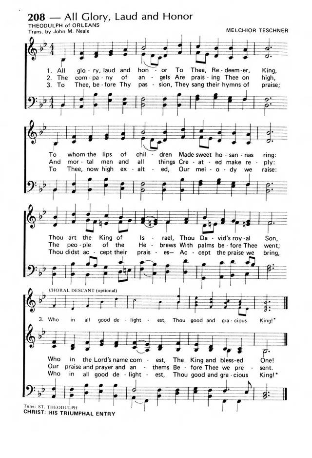 Praise! Our Songs and Hymns page 170