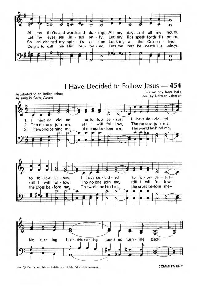 Praise! Our Songs and Hymns page 387