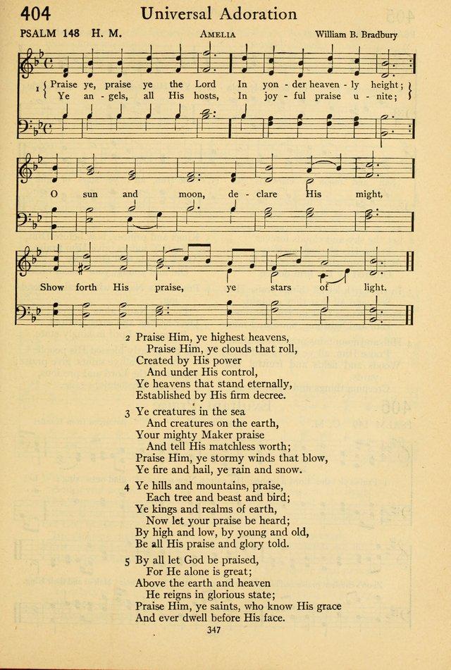 The Psalter: with responsive readings 404  Praise ye, praise