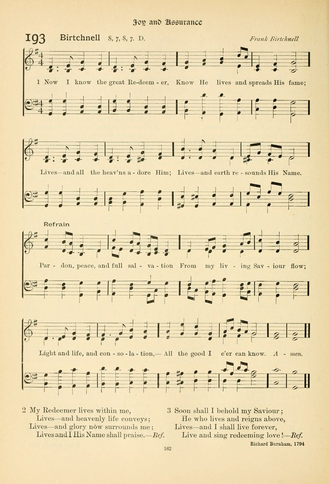 Praise Songs, a Collection of Hymns and Tunes page 175