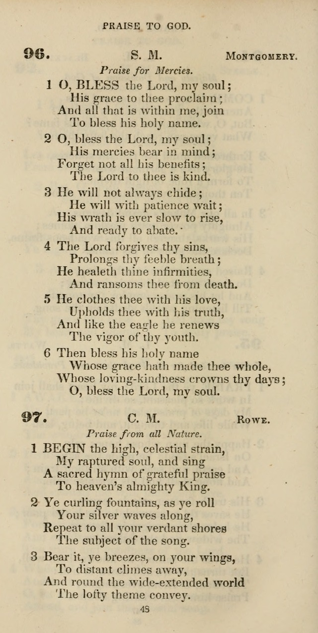 The Psalmist: a new collection of hymns for the use of Baptist churches; with a supplement page 108