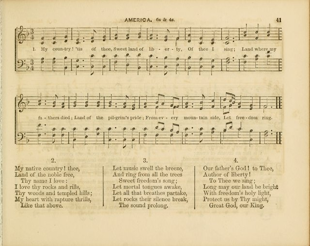 Plymouth Sabbath School Collection: or, Hymns and Tunes page 41