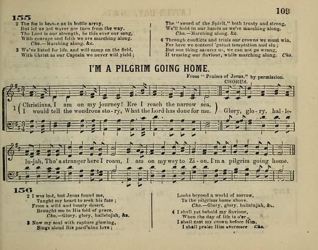 The Plymouth Sabbath School Collection of Hymns and Tunes page 109