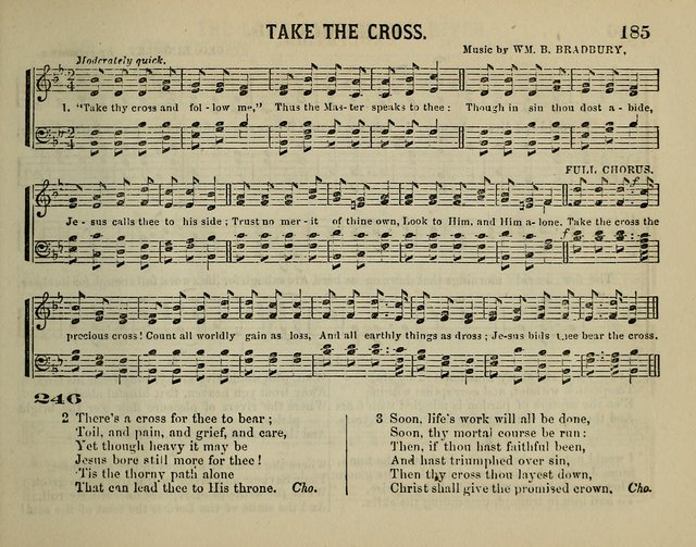 The Plymouth Sabbath School Collection of Hymns and Tunes page 185