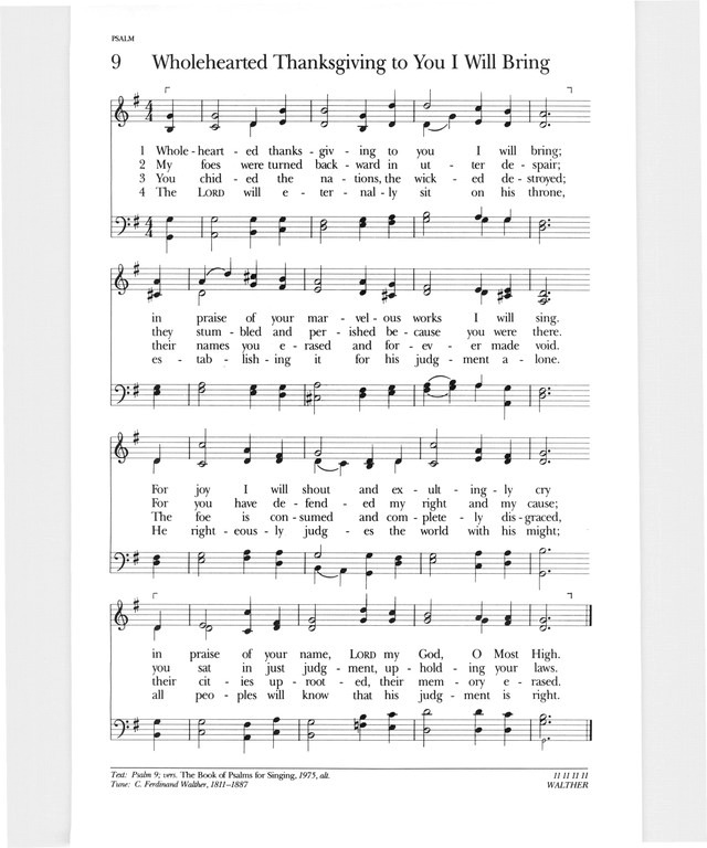 Whole Hearted Thanksgiving To Thee I Will Bring Hymnary