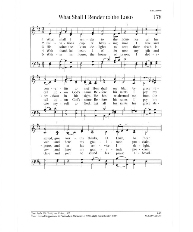 Psalter Hymnal (Gray) page 251